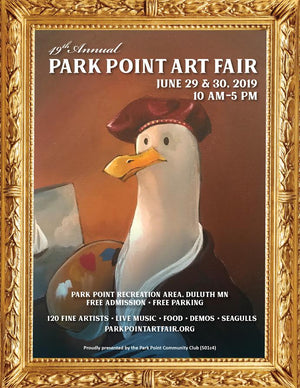 The 49th Annual Park Point Art Fair-Duluth, MN.