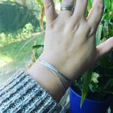 Sterling Silver Set of Three Bangles