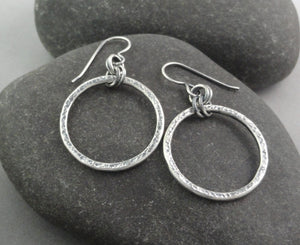 Sterling Silver Circles-Large