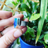 Malachite/Azurite and Sterling Silver RIng