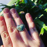 Variscite and Sterling Silver Ring