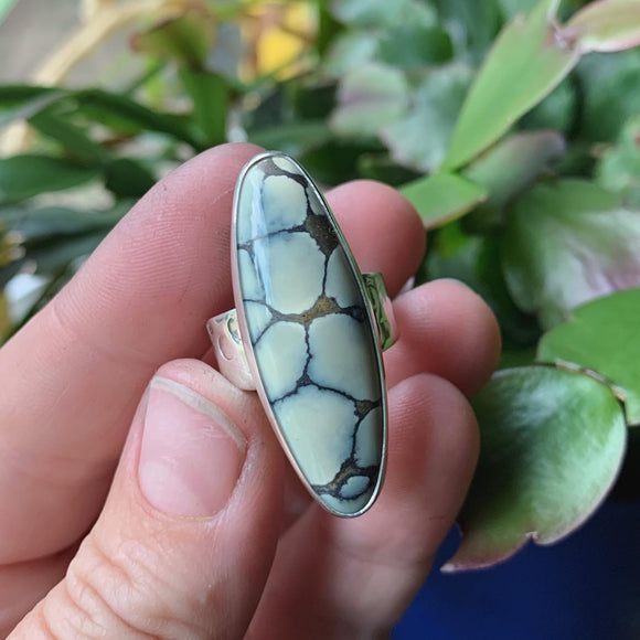 Ivory Creek Jasper and Sterling Silver Ring