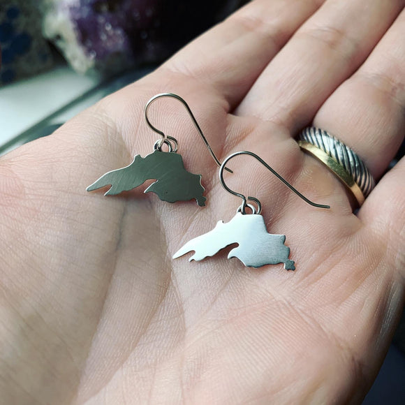 Lake Superior Dangle Earrings