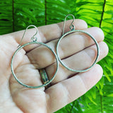 Sterling Silver Circles-Extra Large