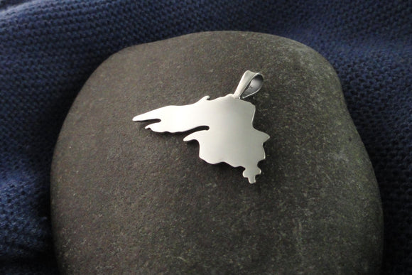 Silver, Lake Superior Pendant
