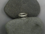 Sterling Silver Three-Wire Ring
