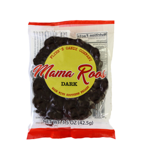 MAMAROOS 1.5 oz. SINGLE DARK CHOCOLATE PECAN CANDY