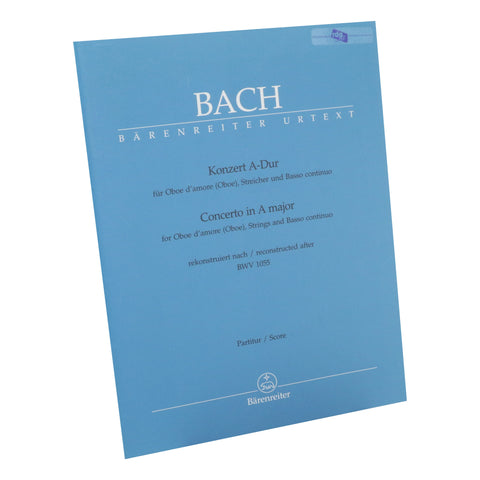 Bach - Concerto in A Major for Oboe d'amore (SCORE ONLY)