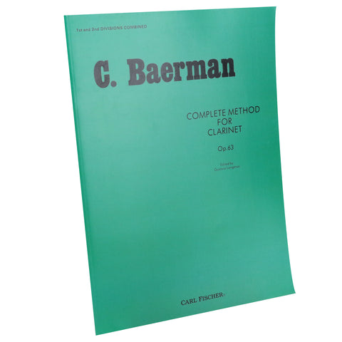 Baermann - Complete Method Book, 1st and 2nd Divisions