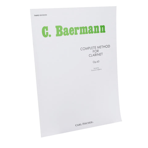 Baermann - Complete Method Book, Bk. 3