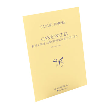 Barber - Canzonetta for Oboe and String Orchestra