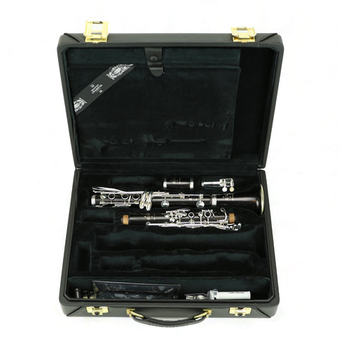 Used Buffet R13 Silver A Clarinet #692761