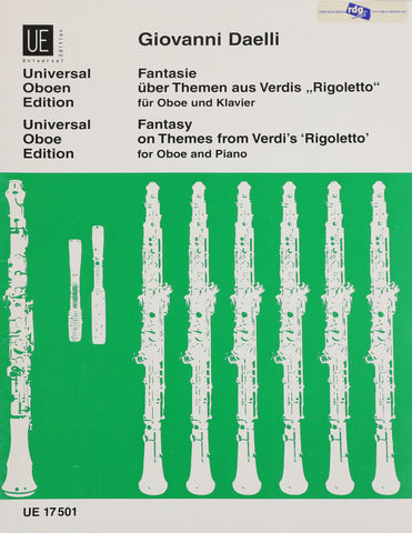 Daelli, Giovanni - Fantasy on Themes from Verdi's 'Rigoletto'