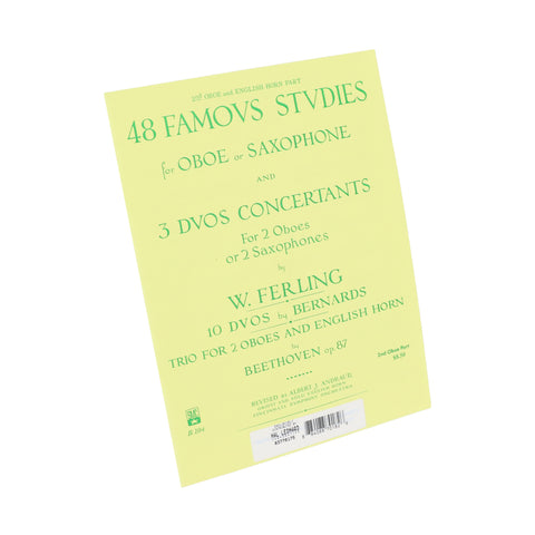 Ferling - 48 Famous Studies, Vol. 2