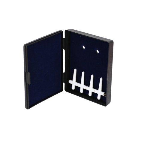 Fox Plastic Bassoon Reed Case, 4 Reed