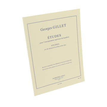Gillet - Studies for the Advanced Teaching of the Oboe