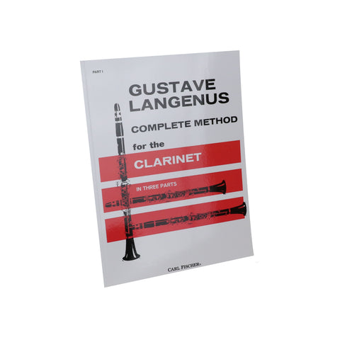 Langenus - Complete Method for the Clarinet, Vol. 1