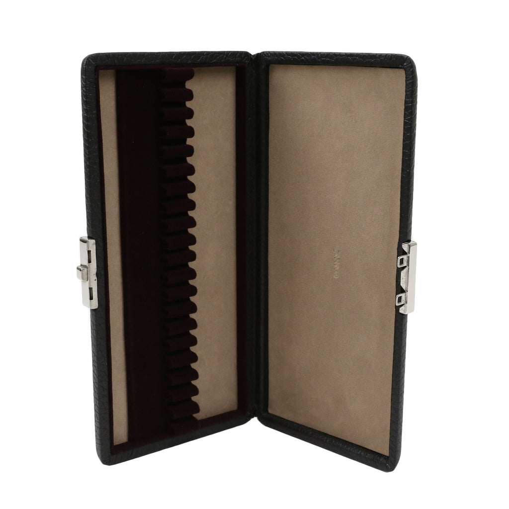 Black Leather Oboe Reed Case