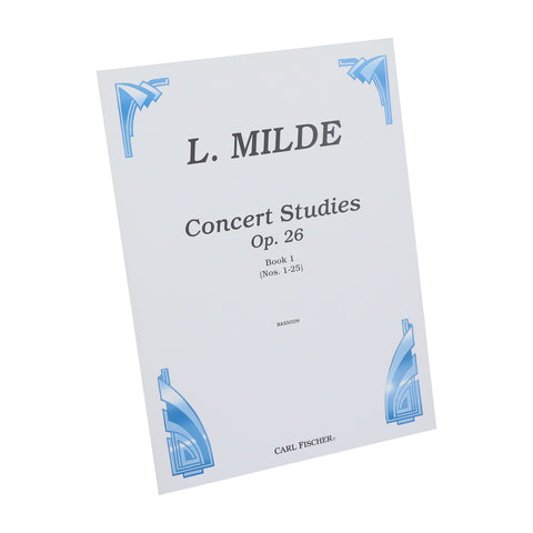 Milde - Concert Studies, Op. 26 for Bassoon - Book 1