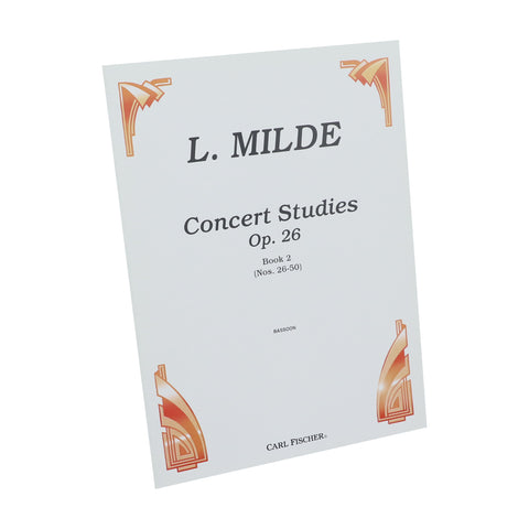 Milde - Concert Studies, Op. 26 for Bassoon - Book 2
