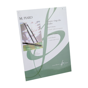 Piard - Ninety Studies for the Bassoon - Book 1