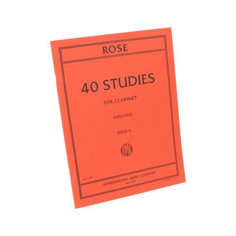 Rose - 40 Studies, Book 2