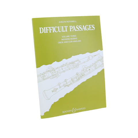 Rothwell - Difficult Passages, Vol. 3