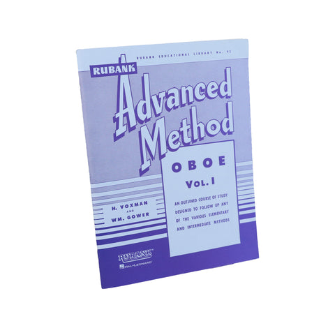 Rubank - Advanced Method for Oboe, Vol. 1