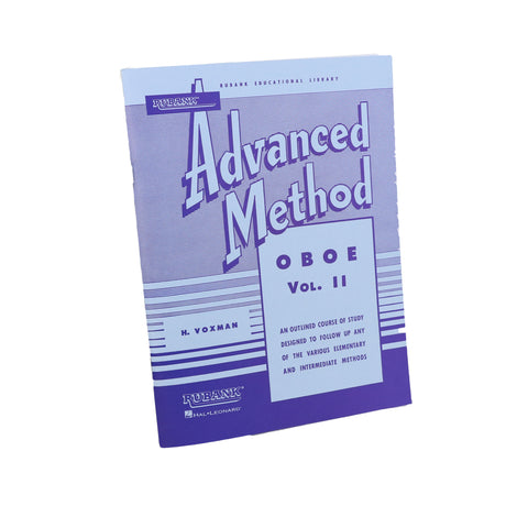 Rubank - Advanced Method for Oboe, Vol. 2