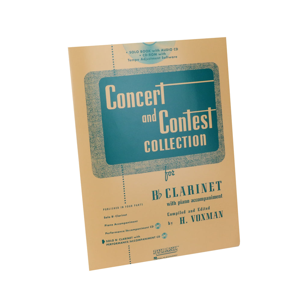 Rubank - Concert and Contest Collections for B♭ Clarinet