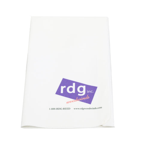 RDG Microfiber Polishing Cloth, Untreated
