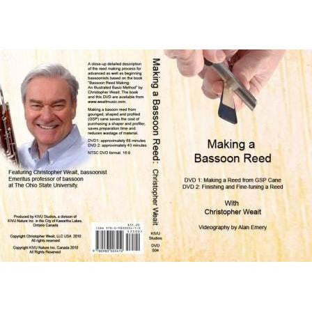 DVD- Weait- Making a Bassoon Reed