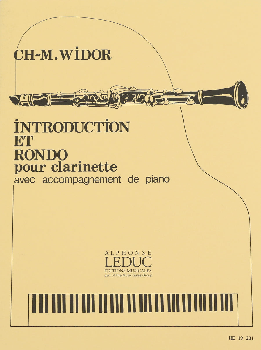 Widor, Charles-Marie - Introduction and Rondo