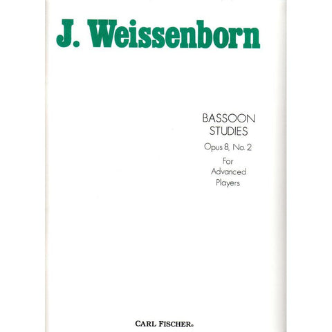 Weissenborn - Bassoon Studies, Op. 8, No. 2