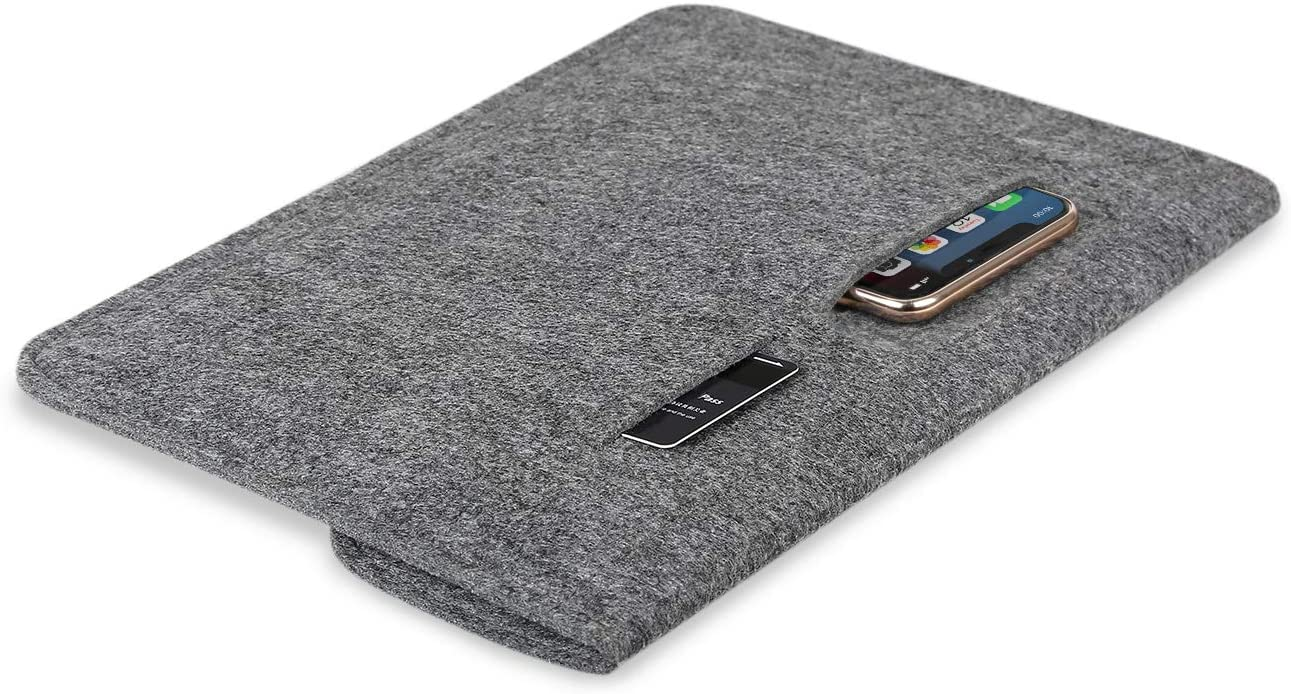 Inateck 10-11インチ iPad Pro/ Surface Go/Galaxy Tab S ラップトップスリーブ TPB-IP,dark gray