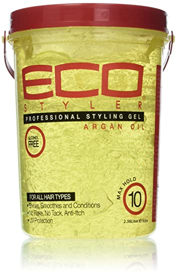 ECO SILVER Gel coiffant argan