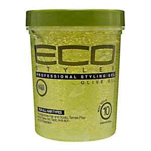 ECO SILVER Gel coiffant olive