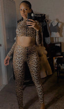 Load image into Gallery viewer, Leopard Long Sleeve 2 PC