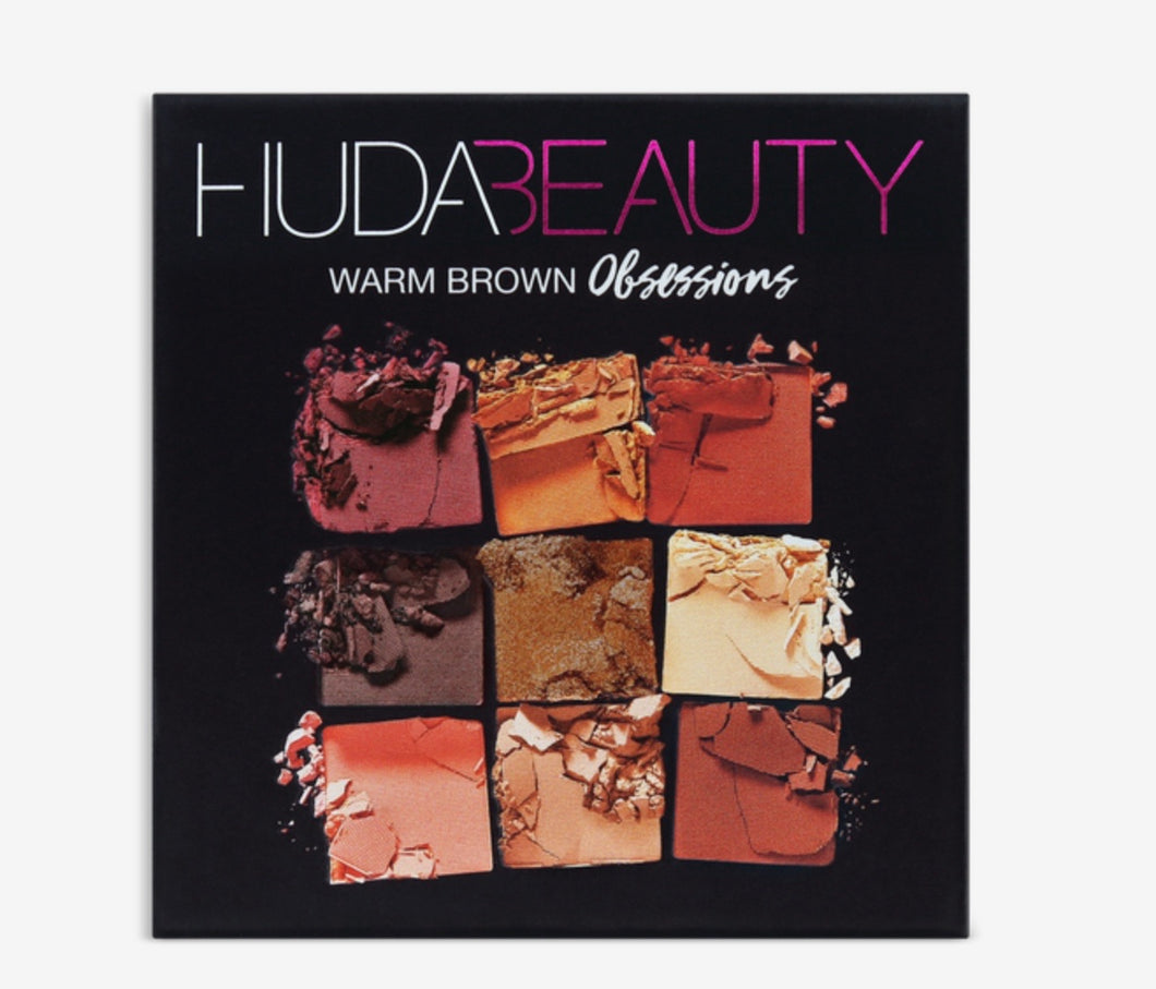 HUDA WARM BROWN EYESHADOW