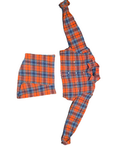 Load image into Gallery viewer, Plaid Two-Piece Custom