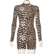 Load image into Gallery viewer, Leopard Jumpsuit