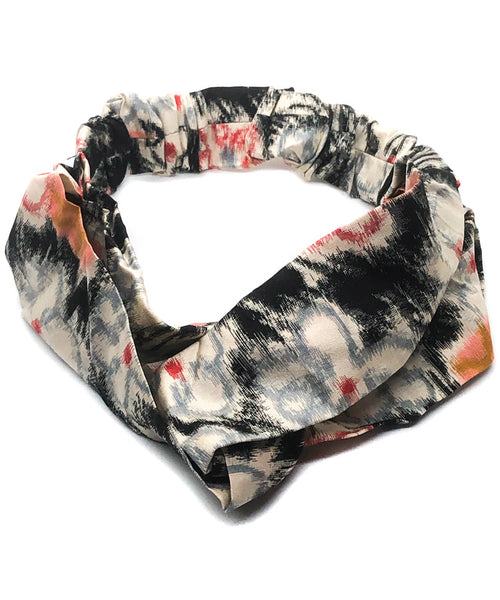 Kimono Antique Headband / Japanese Fabric Headband
