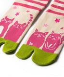 I love Cozy Cats Tabi Socks / High Quality Japanese Socks