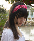 Japanese Bohemian Kawaii  Headband / Snow Pellet Pattern