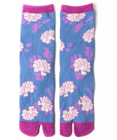 Peony Tabi Socks / High Quality Japanese Tabi Socks