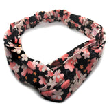 Japanese Floral Print Headband / Cotton fabric Headband
