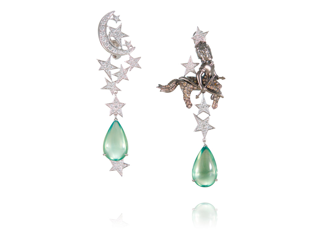 Sagittarius earrings