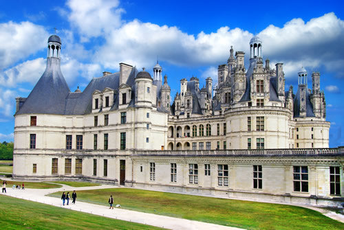 Chambord Castle in the Loire Valley