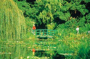 Visiting Impressionism at its Roots: The famous bridge at Monet's garden near Giverny.