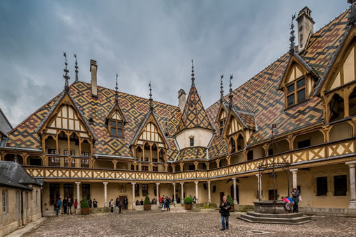 Hospices de Beaune, in Beaune, France.